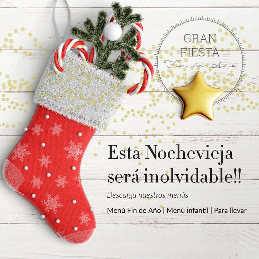 Menú Navidad Ainsa Nochevieja 2020